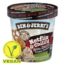 Zmrzlina Ben&Jerry's Netflix & Chilll'd VEGAN 465ml