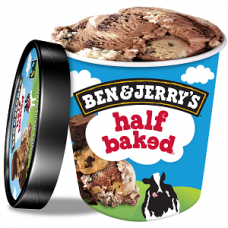 Zmrzlina Ben&Jerry's Half Baked 500ml
