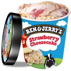 Zmrzlina Ben&Jerry's Strawberry Cheesecake 500ml